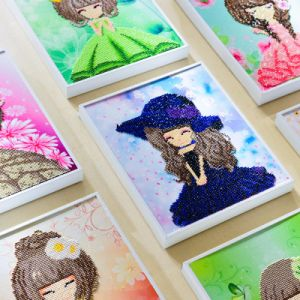 Factory Direct Wholesale Children DIY Embroidery Cross Stitch K-006 pictures & photos
