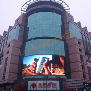 Adjustable Video Program Outdoor P8 LED Display for Advertising pictures & photos
