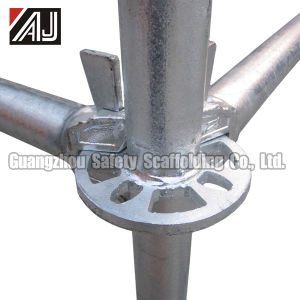 Q235 Galvanized Steel Rosette Scaffolding for Building Construction, Guangzhou Manufacturer pictures & photos