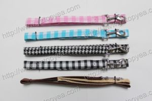 Nylong Dog Leash Covered with Fabrics (YD062-1) pictures & photos