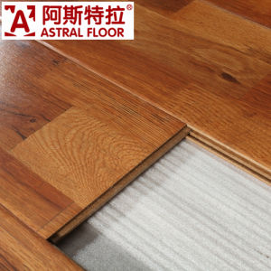 Cork Flooring High Quality 8mm&12mm Handscraped Grain Surface Laminate Wood Flooring (AS1502) pictures & photos