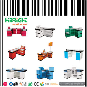 Automatic Cashier Counter with Belt pictures & photos