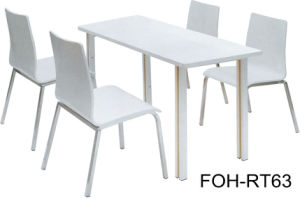 Contemporary Design Fast Food Restaurant Table and Chair pictures & photos