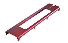 Red Anodized Panel for Audio Amplifier (ISO9001: 2008 TS16949) pictures & photos