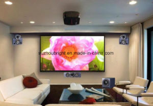 120′′ 4: 3 16: 9 Motorized Screen Projection