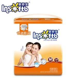 OEM Clothlike Breathable Baby Diapers