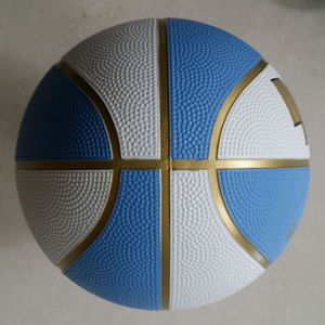Eight Color OEM Rubber Basketball pictures & photos