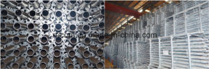 Galvanized Ringlock Scaffold Standards/Verticals for En74/BS1139 pictures & photos