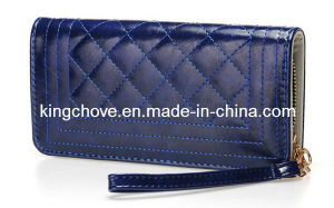 Fashion PU with Sitching Decoration Wallets / Fashion Wallets (KCW06) pictures & photos