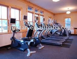 Gym Flooring for Gym Room, Black Rubber Gym Floor pictures & photos