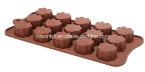 15 Holes Silicone Chocolate Mold pictures & photos