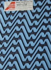 Bule and Black Beautiful Color EVA Shoe Materials pictures & photos