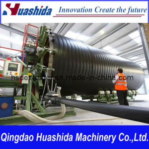 HDPE Spirally Pipe Extrusion Line Structure Wall Pipe Extruder pictures & photos