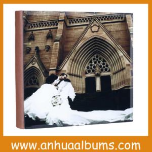 Glass Cover Wedding Photo Book for Photographers