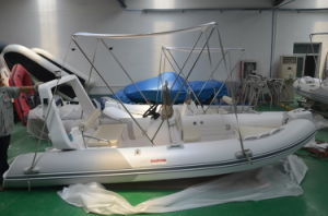 Inflatable Yacht (4.8m, rigid hull) pictures & photos