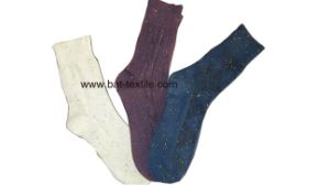 Double Needle Men Socks pictures & photos