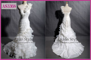 One-Shoulder Wedding Gown, Wedding Dress As3368