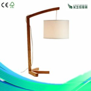 Lightingbird Classic Creation Home Wood Table Lamp (LBMT-AFD)