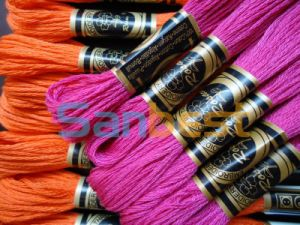 Cotton Floss Thread for Cross Stitch with Different Colors pictures & photos