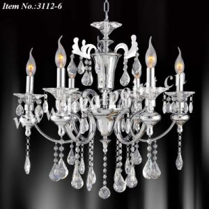 Crystal Chandelier Light with Teflon Wire (HP3112-6)