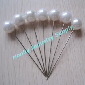 Hijab Supplies Jumbo 65mm Plastic White Round Ball Pearl Head Pin
