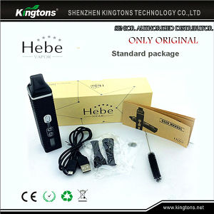 Dry Herb Vaporizer 2200mAh Battery LCD Display Titan II Vaporizer Hebe pictures & photos