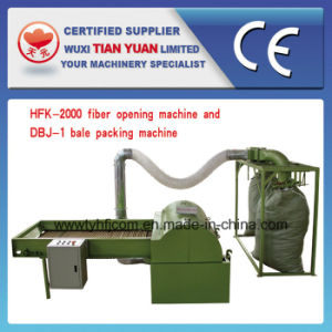 Hfk-2000 High Efficiency Polyster Fiber Opening Machine with Packing Machine pictures & photos