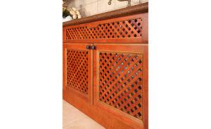 Kitchen Furniture Luxury Solid Wood Kitchen Cabinet (zq-014) pictures & photos