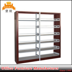 Library Furniture Metal Double Column Bookshelf pictures & photos