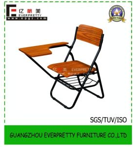 2015 School Folding Writing Tablet Chair with Basket (SF-18S) pictures & photos