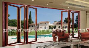 Customzied Double Glazing Aluminium Folding Door, Aluminum Doors pictures & photos