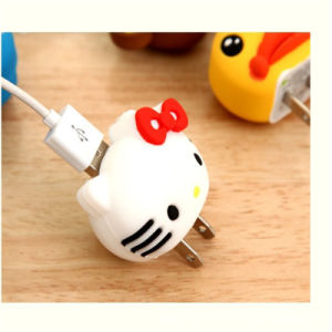 Cartoon Portable USB Adapter for Android Cell Phone pictures & photos