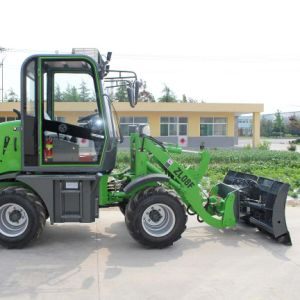 MP 0.8 T Hydraulic Mini Wheel Loader with All Kinds of Implements pictures & photos