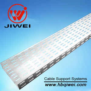 Perforated Aluminum Cable Tray with CE/SGS/ISO Certifications