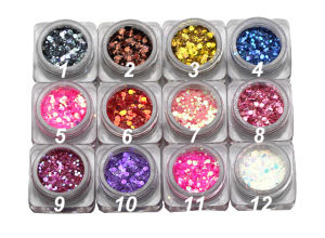 Glitter Nail Powder, Glitter Powder pictures & photos