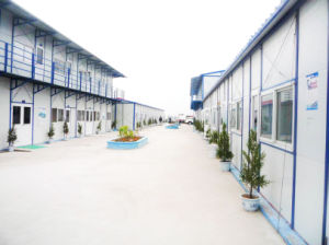 Prefabricated Housing/Modular Office/Steel Structure Dormitory (pH-94) (pH-41) pictures & photos