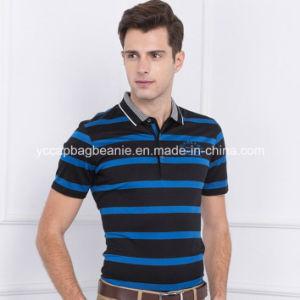 Young Man Polo Shirt, Men′s Stripe Shirt pictures & photos