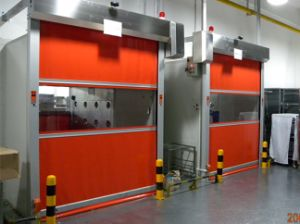 Rapid Industrial Doors Air Shower