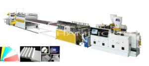 Professional High Performance PVC Flexible Plastic Sheet Extruder pictures & photos