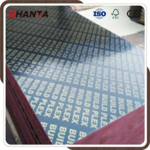 Good Quality Film Faced Plywood with Melamine Glue pictures & photos