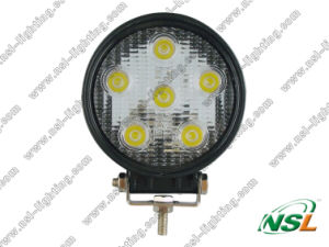 Flood/Spot Aluminium Alloy LED off Road Warning Light (NSL-1806-18W) pictures & photos