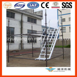Aluminium Scaffold Stairs with Platform pictures & photos
