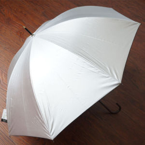 Hot Selling Promotional Rain Automatic Open Stock Golf Umbrella pictures & photos