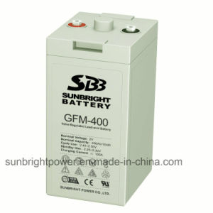 Rechargeable 2V400ah High Quality Solar Power Storage Battery pictures & photos