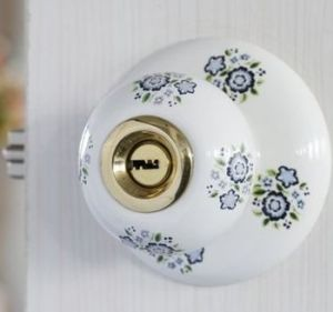 Semi-Ceramic Room Door Pastoral Ceramic Ball Lock pictures & photos