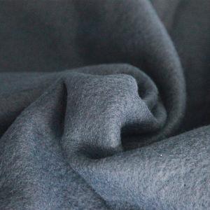 Double-Sided Velvet Plain Dyed Fleece Solid Dyed Polyester Fleece Gray Polar Fleece Fabric pictures & photos
