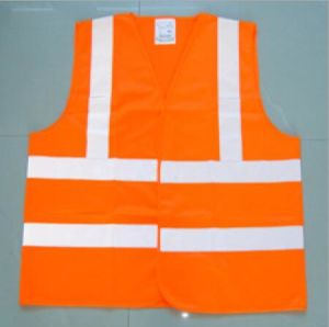 New Style Reflectt Safety Traffic Vest pictures & photos