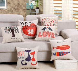 Tree Cushions Decorative Housewares Throws Zipper Closure pictures & photos