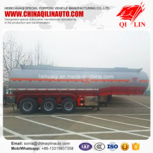 Stainless Steel Corrosive Liquid Transport Tanker Semi Trailer pictures & photos