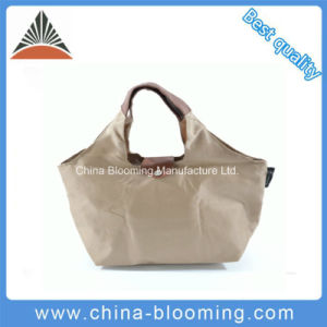 Hot-Selling Promotional Foldable Polyester Tote Shopping Lunch Cooler Bag pictures & photos